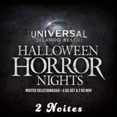 Universal Orlando Halloween Horror Nights – Flex Ticket – Para Duas Noites de Domingo à Sexta (Ingresso Eletrônico)