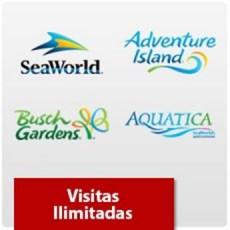 SeaWorld Orlando - Visitas Ilimitadas - Acima de 3 anos (Ingresso Eletrônico)